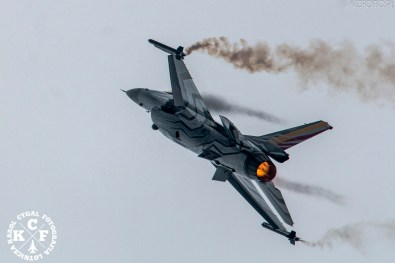 Belgian Air Force F-16 Solo Display