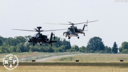 Mil Mi-35 Hind Attack Helicopter Display Team