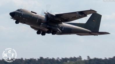 aviation, Bundeswehr, demo, FLY, historical, ILA Berlin Airshow, Karol Cygal, kcfoto.pl, Luftwaffe, military, NATO, Transall C-160D
