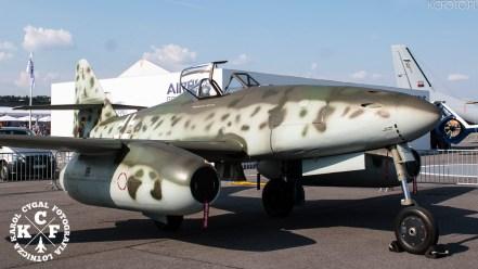Airbus Heritage Flight, ila, ILA Berlin Airshow, ILA Berlin Airshow 2016, Karol Cygal, kcfoto.pl, Messerschmitt Me 262