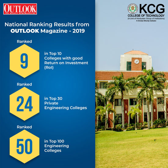 KCG College of Technology – Making every man a success and