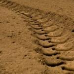 トラクター跡