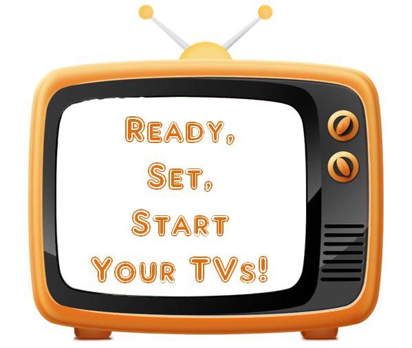 graphic tv watching