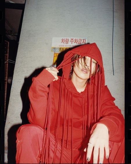 DPR Live in red suit