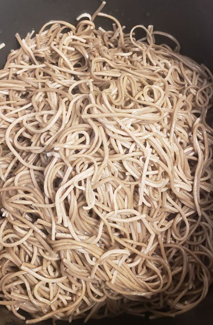 soba noodles for cold buckwheat noodles