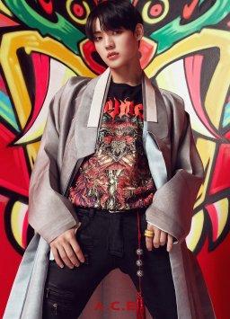 A.C.E - hanbok - Donghun 2