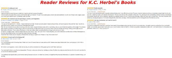 Reader Reviews for K.C. Herbel's Books