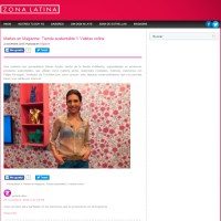 zona latina magazine chile moda fashion diseño sustentable kchibache