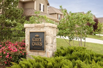 Grey Oaks Subdivision in Shawnee KS