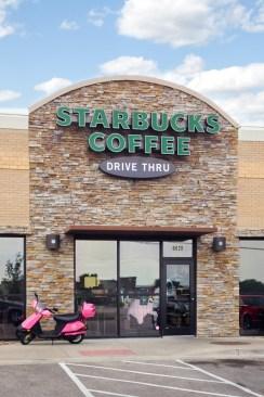 Neighborhood Starbucks in Shawnee KS