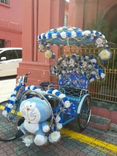Becak Doraemon