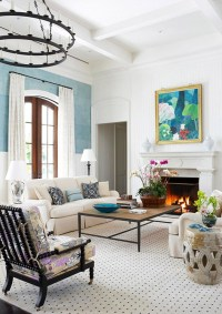 Decorating a Fireplace Mantel | Kate Collins Interiors
