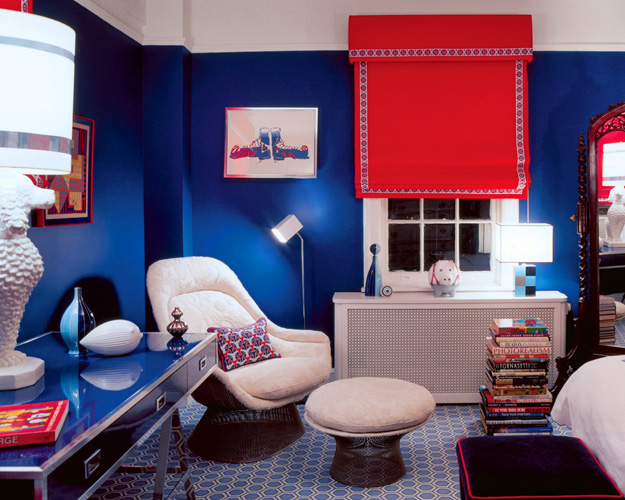 Inspiration Navy Red And White Kids Spaces Kate