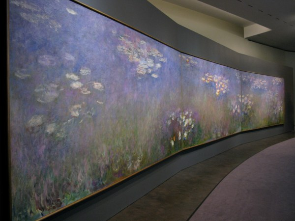 Claude Monet Paintings Water Lilies Triptych