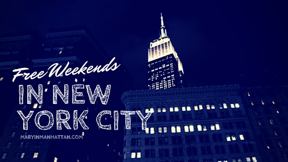 Free NYC Adventures for People Who Think Long Weekends Are Music to Their Ears [February 18-20]