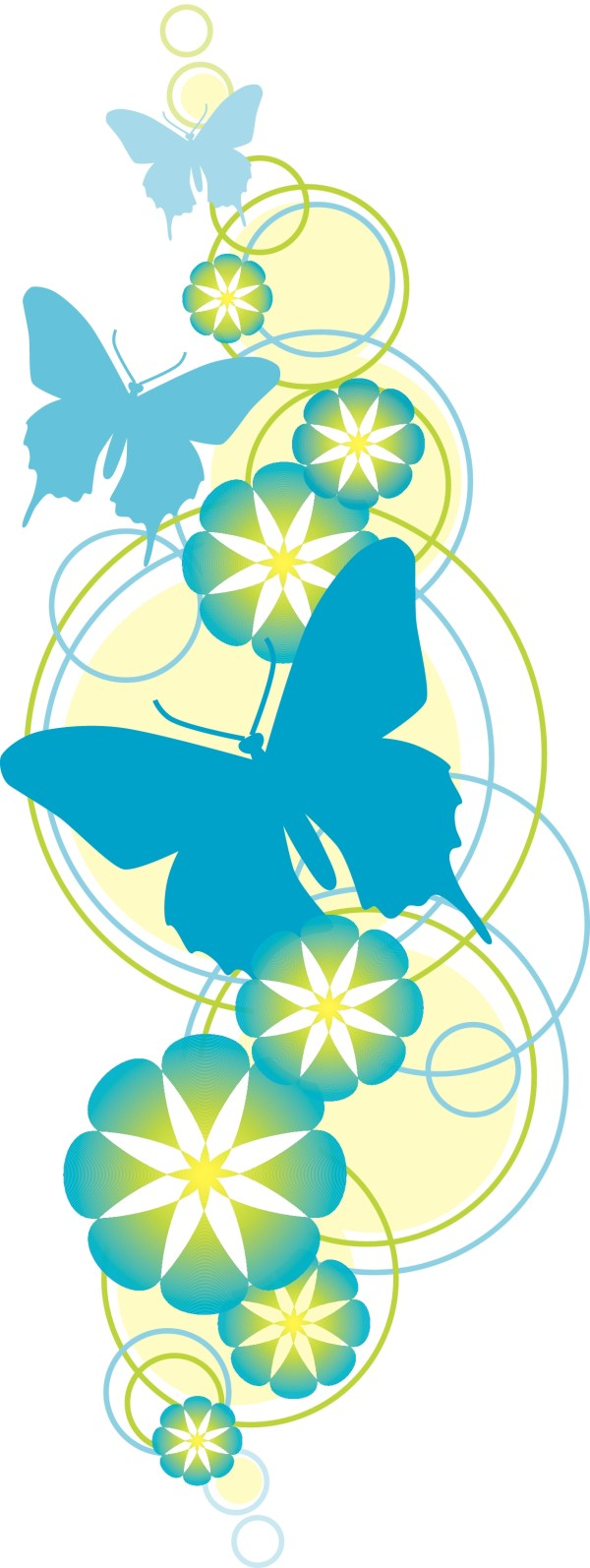 flower and butterfly christian
