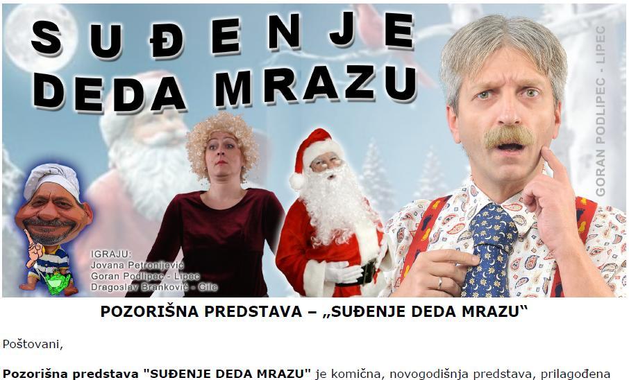 SUĐENЈE DEDA MRAZU
