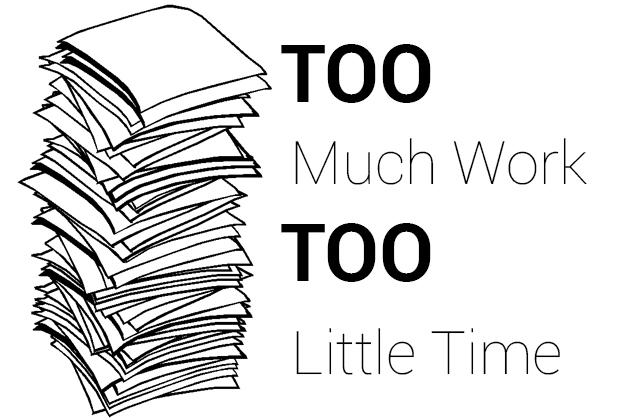 Legacy Press : Too much work, too little time