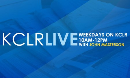 KCLR Live, Weekdays from 10am
