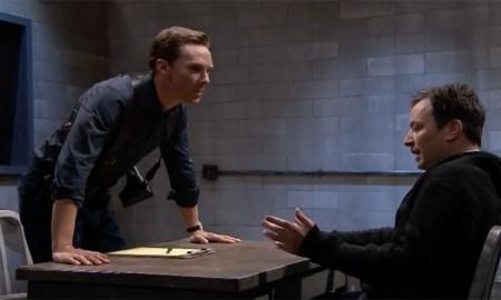 Benedict Cumberbatch and Jimmy Fallon in a Mad Lib Theatre sketch