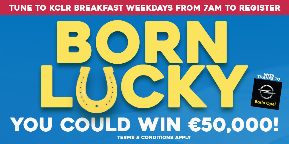 Born Lucky on KCLR Breakfast