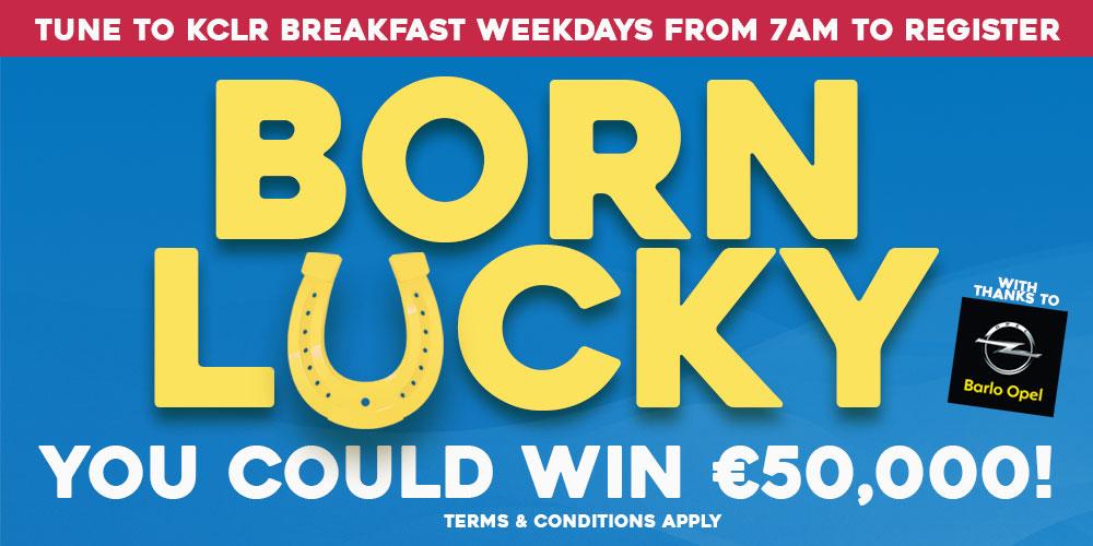 Born Lucky on KCLR Breakfast