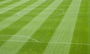 File photo of match day soccer pitch.