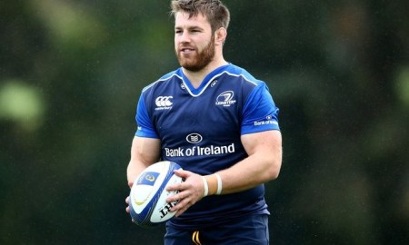 Sean O Brien training with Leinster