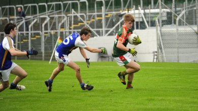 CBS Carlow (St. Mary's Academy) were 0-17 to 3-5 winners over Colaister Eanna, Ballyroan at Netwatch Cullen Park on Tuesday 1 December 2015. Photo: @cbscarlow/Twitter