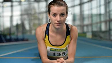 Kilkenny's Ciara Everard. Photo: Athletics Ireland
