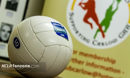 Pictured at the launch of Carlow's 2016 GAA campaign at Netwatch Cullen Park on 28 January 2016. Photo: Ken McGuire/KCLR