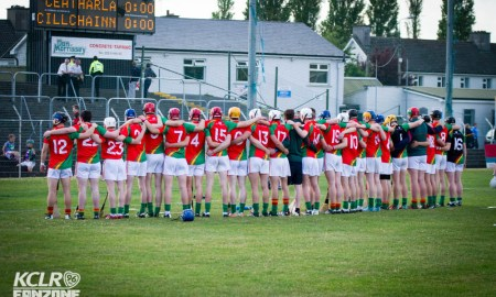 Carlow's U21 hurlers pictured ahead of their semi-final fixture against Kilkenny at Netwatch Cullen Park in June 2015. Photo: Ken McGuire