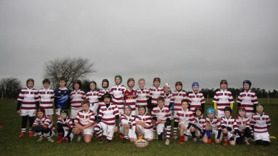 Tullow RFC Minis. Credit: Tullow Rugby