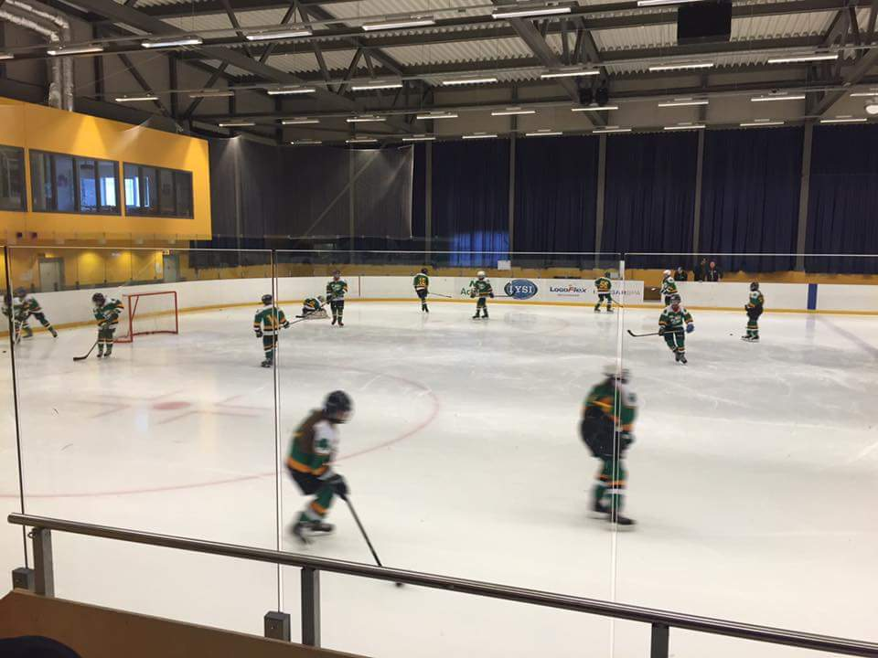IIHA Saints recorded an emphatic 9-1 victory this week in Iceland. Photo: Paul Cummins/Facebook