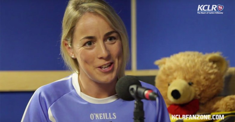 Kilkenny's Angela Kenneally on Camogie Corner with KCLR