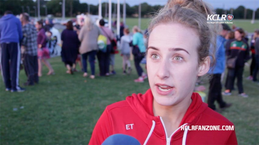 Carlow Camogie's Eleanor Tracey