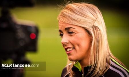 Kilkenny intermediate camogie's Angela Kenneally. Photo: Ken McGuire/KCLR