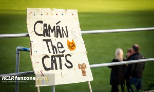 Camán The Cats - A sign supporting Kilkenny Camogie. Photo: Ken McGuire/KCLR