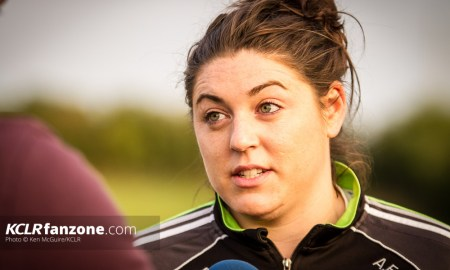 Kilkenny intermediate camogie captain Áine Fahey. Photo: Ken McGuire/KCLR