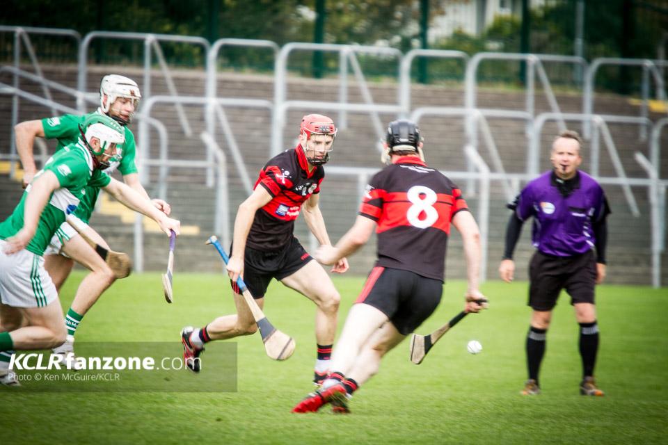 St. Mullins v Mount Leinster Rangers at Netwatch Cullen Park. Photo: Ken McGuire/KCLR