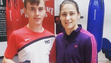 Shane Flavin With Katie Taylor