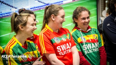 Carlow Camogie Launch 2017. Pic: Stephen Byrne/KCLR