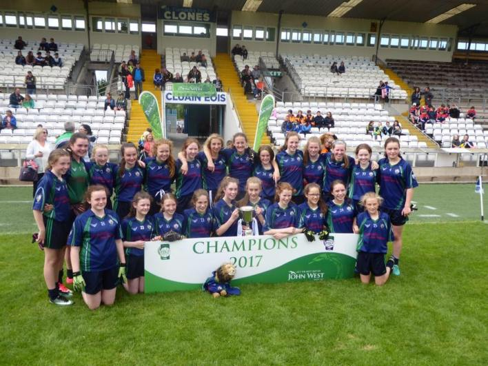 Kilkenny City Ladies GFC's Feile Champions