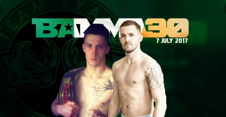 SBG's Dylan Logan and (right), 'The Carlow Kid' Andy Murphy