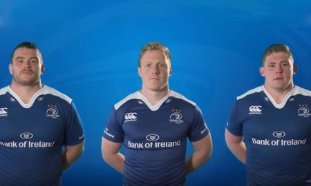 Leinster Rugby. Screenshot: YouTube