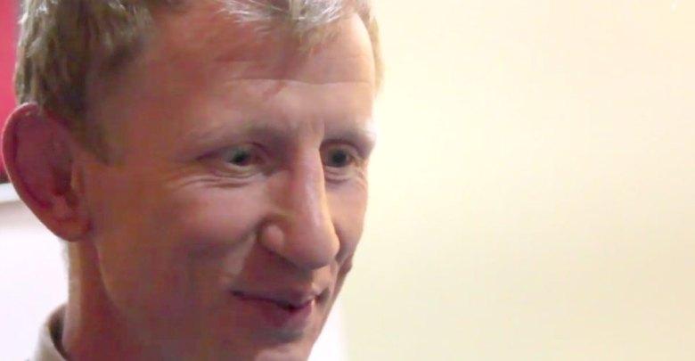 Leinster Rugby head coach Leo Cullen. Screenshot: KCLR/YouTube
