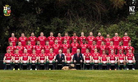 The 2017 British & Irish Lions Squad. Photo: Inpho