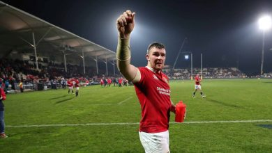 Peter O'Mahony in action for the British & Irish Lions