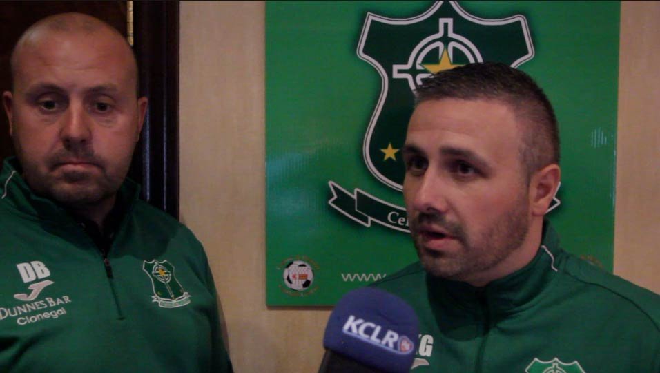 Davy Byrne & Keith Gallagher, Celtic Stars FC