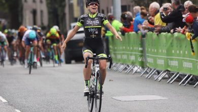 Belle de Gast of the WV Breda Cycling Team